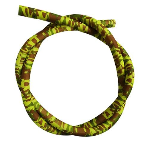 Шланг силиконовый AMY Deluxe Soft Touch camouflage Yellow-Green