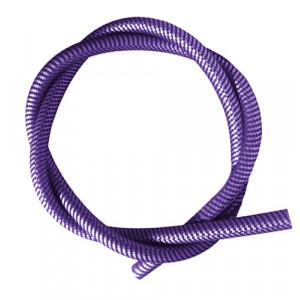 Шланг силиконовый AMY Deluxe Soft Touch Carbon-Violet