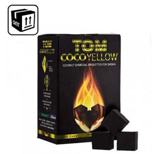 Уголь Tom Cococha Yellow оптом 100 кг