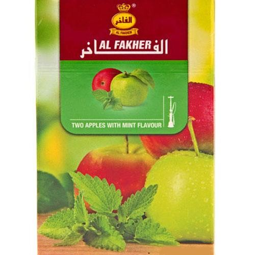 Табак AL FAKHER Two Apple with Mint 50 гр