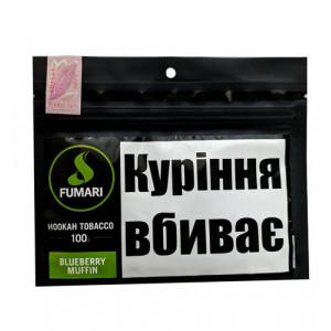 Табак Акциз Fumari Blueberry Maffin