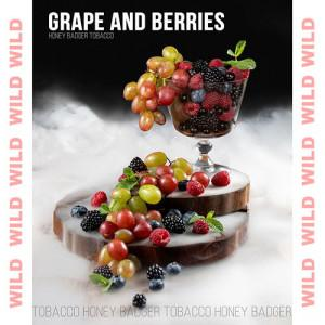 Табак Honey Badger Wild Grape and Berries 40 гр