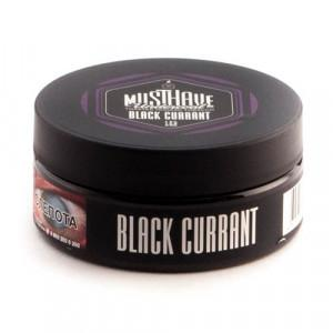 Табак АКЦИЗ Must Have Black Currant 25 гр