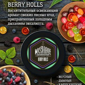 Табак Must Have Berry Holls 125 гр
