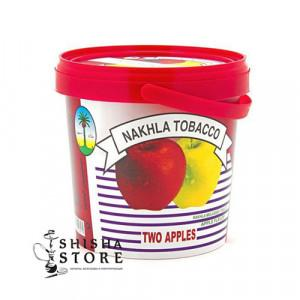 Табак NAKHLA Two Apple 1 kg