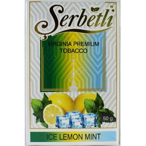Табак SERBETLI Ice Lemon Mint 50gr