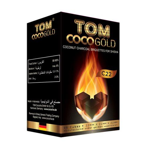 Уголь Tom Cococha Gold С 22 250 гр